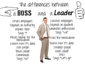 """Read more about the article La Differenza fra """"Capo"""" e """"Leader"""""""